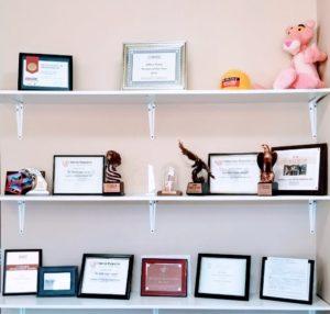 Awards Carroll's Exterior Service